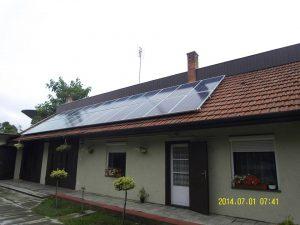 4kW-os napelemes rendszer